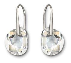 568b1437a SWAROVSKI GALET CLEAR CRYSTAL PIERCED EARRINGS 665159 | Duty Free Crystal  Pierced Earrings, Jewelry Rings