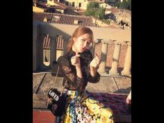SNSD SooYoung updates with her photos from GUCCI's event in Italy
