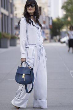 e849040db6 Catch Up on All of NYFW s Best Street Style From Last Season. Look Street  StyleNew York Fashion ...