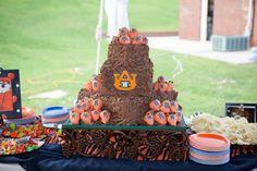War Eagle Auburn Cakes