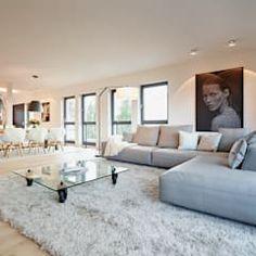 Lieblich Moderne Wohnzimmer Bilder: Penthouse