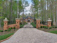 My dream gate!! Entrance into my estate :)