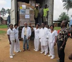New Medical Aid Response to #Ebola Virus in #Liberia—With support from AmeriCares, the staff of Ganta Hospital in Liberia will soon have 600 pairs of gloves, 3,000 gowns, 600 pairs of goggles and other critical equipment they need to help stop the spread of the highly infectious, deadly...