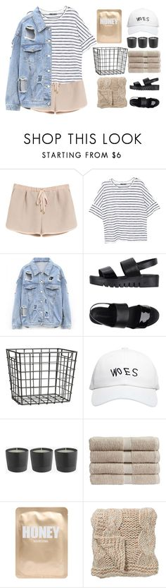 """""""like to receive a message"""" by e-xtinct ❤ liked on Polyvore featuring Mulberry, MANGO, Jeffrey Campbell, H&M, October's Very Own, Christy, Lapcos and Bloomingville"""