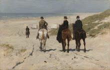 A. Mauve Morgenrit langs het strand 43,7 x 68,8 / 50 x 78,8-Verzameld werk van F.W. Duyster - Alle Rijksstudio's - Rijksstudio - Rijksmuseum