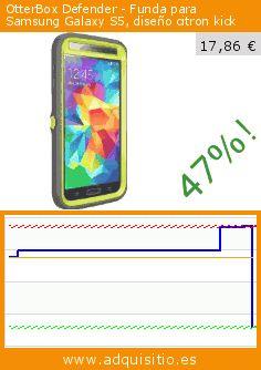 OtterBox Defender - Funda para Samsung Galaxy S5, diseño citron kick (Accesorio). Baja 47%! Precio actual 17,86 €, el precio anterior fue de 33,67 €. https://www.adquisitio.es/otterbox/defender-funda-samsung-10