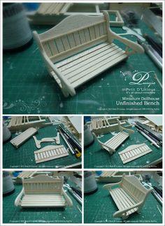 Licious Petit D ': Woodcraft miniature tCraftutorial