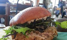 Chicken Sandwich, The Fumbally - Dublin, Ireland Ireland Food, Dublin Ireland, Chicken Sandwich, Best Places To Eat, Burgers, Great Recipes, Sandwiches, Artisan, Fresh