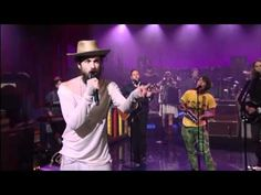 Edward Sharpe & The Magnetic Zeros - Man on Fire (Live on Letterman)