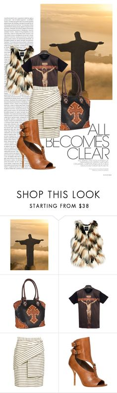 """""""When I survey the Wondrous Cross"""" by spicedblossom on Polyvore featuring Oris, GUESS by Marciano, M&F Western, Reiss and Max Studio"""