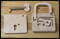 Scrollsaw Workshop: Scroll Saw Padlock Pattern and Video.