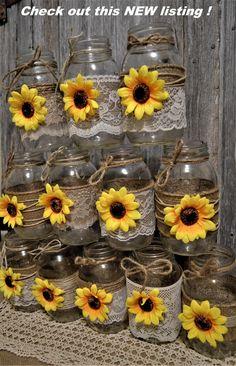Sunflower Birthday Parties, Sunflower Party, Sunflower Baby Showers, Rose Wedding, Fall Wedding, Rustic Wedding, Wedding Ideas, Dream Wedding, Sunflower Wedding Centerpieces