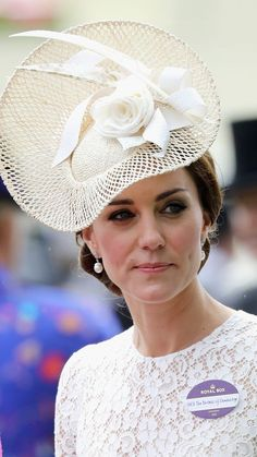 Duchess of Cambridge attends the second day of Royal Ascot on June 15, 2016. (Photo Chris Jackson, Getty Images)