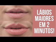 Como fazer seus lábios parecerem muito maiores com maquiagem? - E aí, Beleza?