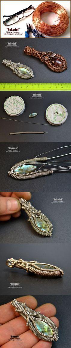 Wire Wrap Pendant                                                                                                                                                                                 More