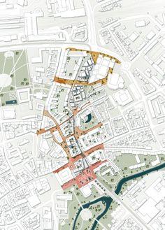 Site Analysis Architecture, Architecture Site Plan, Architecture Mapping, Architecture Graphics, Urban Architecture, Masterplan Architecture, Architecture Diagrams, Urban Design Concept, Urban Design Diagram