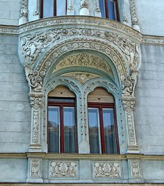 Budapest Art Nouveau / Bruchsteiner House. Built: 1902-1903, architect: Izidor Sterk