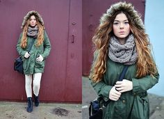 Simple military look. (by Anna Adamska) http://lookbook.nu/look/4399241-simple-military-look
