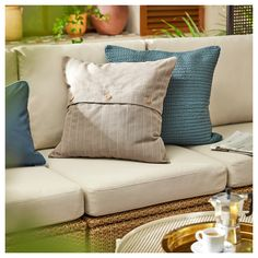 """FESTHOLMEN Cushion cover, indoor/outdoor, beige, 20x20"""" - IKEA Ikea Inspiration, Cushion Pads, Cushion Covers, Ikea Series, Ikea Sale, Beige, Outdoor Cushions And Pillows, Throw Pillows, Seat Pads"""