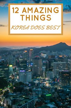 12 things that Korea does better than anywhere else! From food to video games, these are the things that Korea is best at. Seoul Korea Travel, Asia Travel, Amazing Destinations, Travel Destinations, Travel Photography, Seoul Photography, Photography Tips, Culture Travel, Vacation Trips