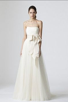 reem acra full of luck4824 w veil 3500 size 4 used wedding dresses