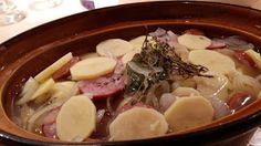Ma bonne popote familiale : Pommes de terre boulangère aux Montbélliards