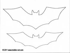 halloween craft paper bat for year old children - Halloween Bats Crafts
