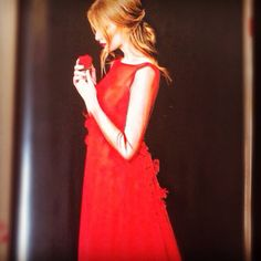 Beau Monde magazine, march issue! #parlor #red #dress #fashion