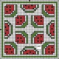 "Gallery.ru / anavalles - Album ""biscornius punto de cruz"""