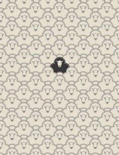 black sheep art print by Davies Babies Art And Illustration, Illustration Inspiration, Illustrations, Pattern Illustration, Cute Pattern, Pattern Art, Pattern Design, Textures Patterns, Print Patterns