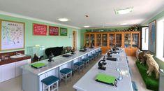 중등교육환경의 본보기, 표준으로 훌륭히 건설된 원아들의 행복의 요람 평양중등학원 (2)-《조선의 오늘》