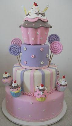 bolos de aniversário para meninas