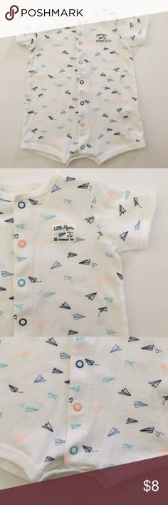 Carter's baby 👶 boy SIZE 12 one piece Cute one piece baby 👶 boy size 12 months Carter's One Pieces Bodysuits