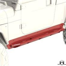 Metal Cloak Jeep Wrangler Rocker Rail, LJ