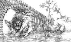 troll_bridge___pencils_by_gido-d60evd5.jpg (1024×605)