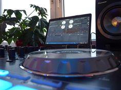 Pioneer DJ Setup with Serato Dj Setup, Gaming Room Setup, Digital Dj, Pioneer Dj, Dj Gear, Dj Booth, Dj Music, Turntable, Edm