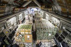 Een blik in het reusachtige laadruim. Foto: Ministerie van Defensie