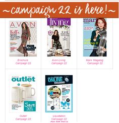 New Avon Canada order here: http://www.avon.ca/shop/en/avon-ca/brochure-list?BP=Hm6JdEYWyqw%3d Payment by Paypal or email transfer