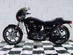 1977 Harley-Davidson XLCR Cafe Racer...