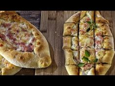 Εύκολο & Πεντανόστιμο Πεϊνιρλί - Pizza Boat - Peinirli - YouTube Cookbook Recipes, Cooking Recipes, Pizza Boats, Pastry Design, Greek Recipes, Pie Dish, Hot Dog Buns, Finger Foods, Brunch