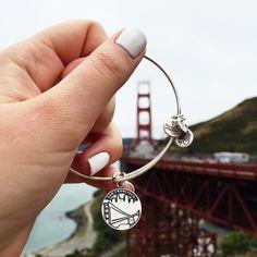 San Francisco! Golden Gate Bridge!