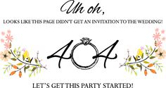 Page Not Found | mywedding.com