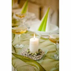 Wedding Table Centerpieces without Flowers Wedding Table Centerpieces, Flower Centerpieces, Table Decorations, Wedding Table Layouts, A Day To Remember, Candles, Weddings, Quilts, Flowers