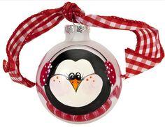 DecoArt® Christmas Penguin Ornament