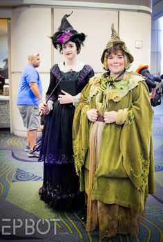 EPBOT: MegaCon 2016: The Best Cosplay, Pt 1 Madame Pince and Professor Sprout