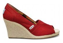 wedges by TOMS..