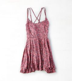 Camilia Rose Don't Ask Why Strappy Flounce Dress