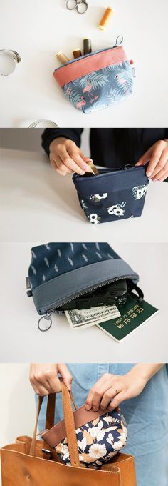 Ban loose and messy items with this lovely pouch that will help keep everything in order!