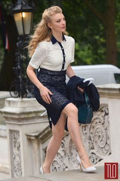 Natalie Dormer at the Best Of Britain's Creative Industries event at Number 10 Downing Street in London, England