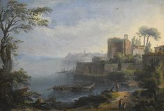 anesi paolo an italianate coastal   landscape   sotheby's l16034lot8vybsen